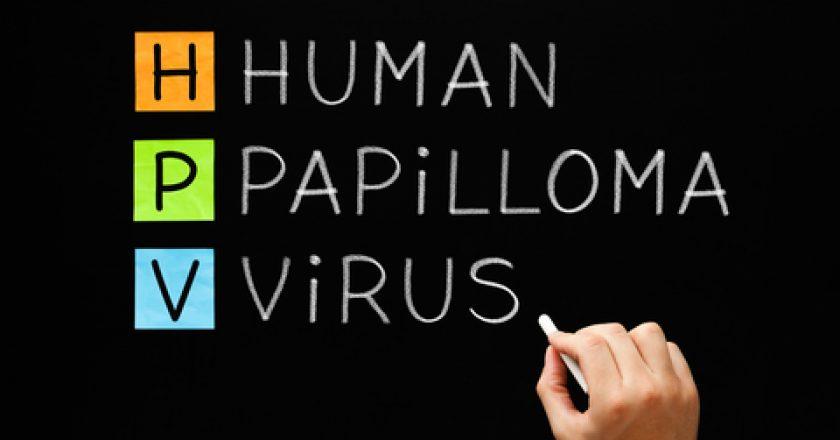 HPV - Human Papilloma Virus On Blackboard