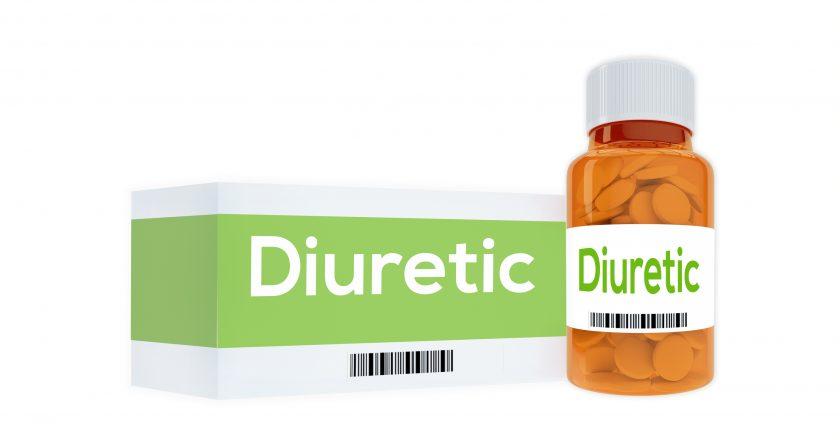Diuretic Medication concept