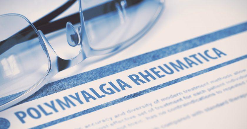 Polymyalgia Rheumatica. Medicine. 3D Illustration.