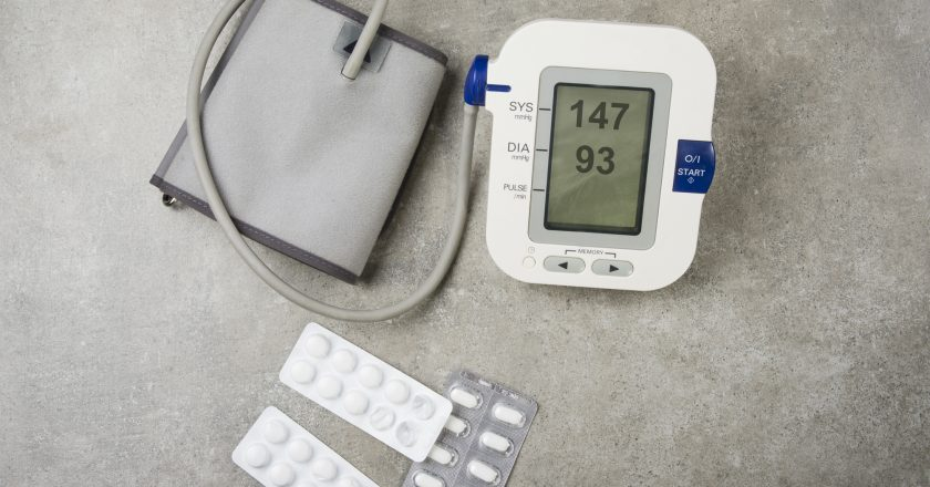 Hypertension concept. High blood pressure with used tablets and pills. | © Maxopphoto | Dreamstime Stock Photos