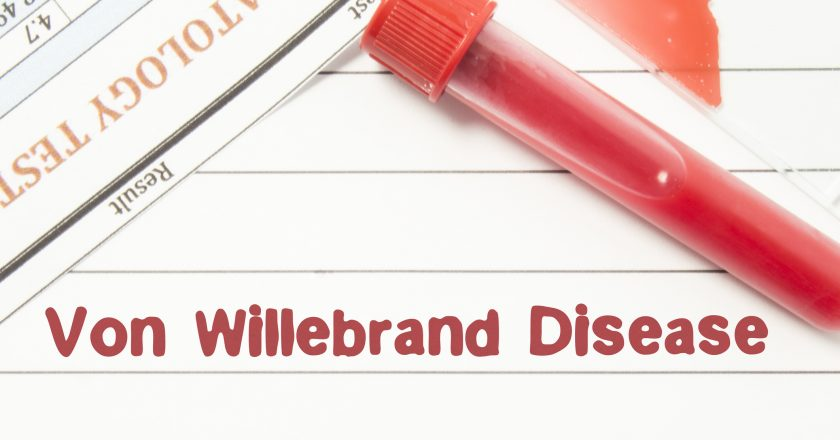 Diagnosis Von Willebrand Disease. Notepad with text labels Von Willebrand Disease, laboratory test tubes for the blood, blood smea | © Ivan Shidlovski | Dreamstime Stock Photos | © Ivan Shidlovski | Dreamstime Stock Photos