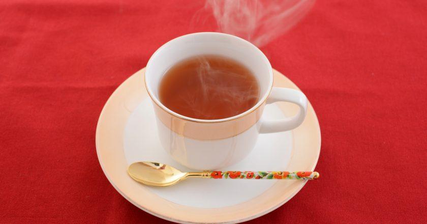 A cup of tea |