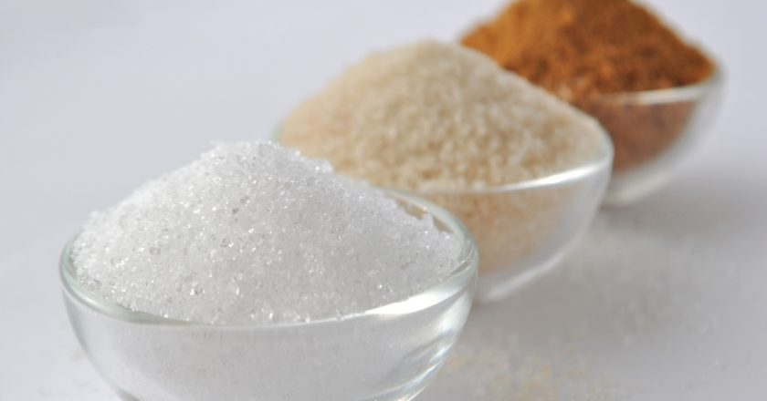 Alternative sweeteners - organic coconut sugar, xylitol, cane sugar, | © Akvals | Dreamstime Stock Photos