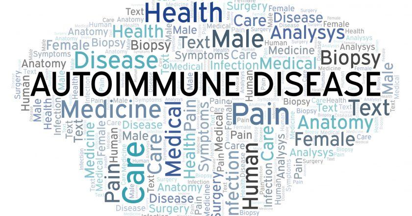 Autoimmune Disease word cloud