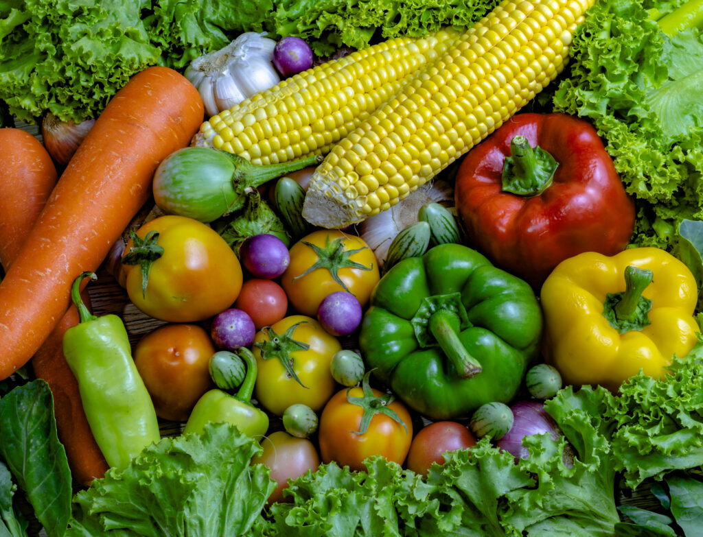 Vegetables are good for health  