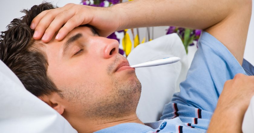 Close up of man with flu | © Gabriel Blaj | Dreamstime Stock Photos