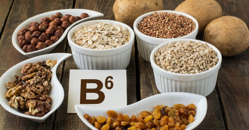 Ingredients Vitamin B6 | © Nadezhda Andriyakhina | Dreamstime Stock Photos