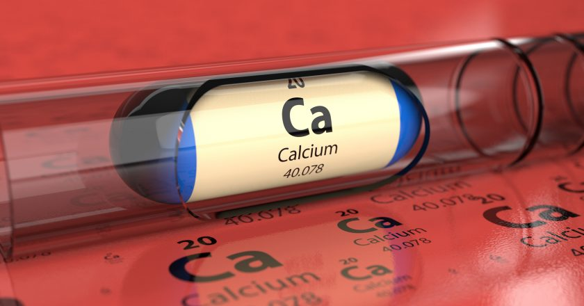 Capsule with Calcium Ca