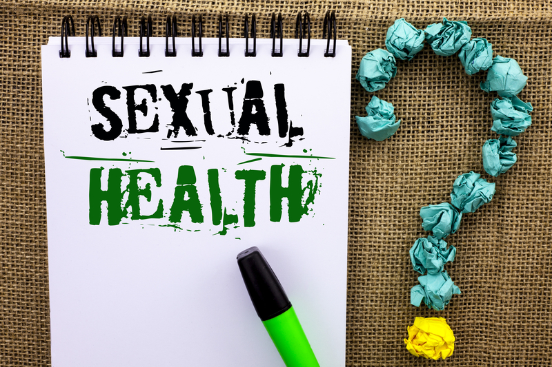 Writing note showing Sexual Health. Business photo showcasing STD prevention Use Protection Healthy Habits Sex Care written on No | © Arturszczybylo | Dreamstime Stock Photos