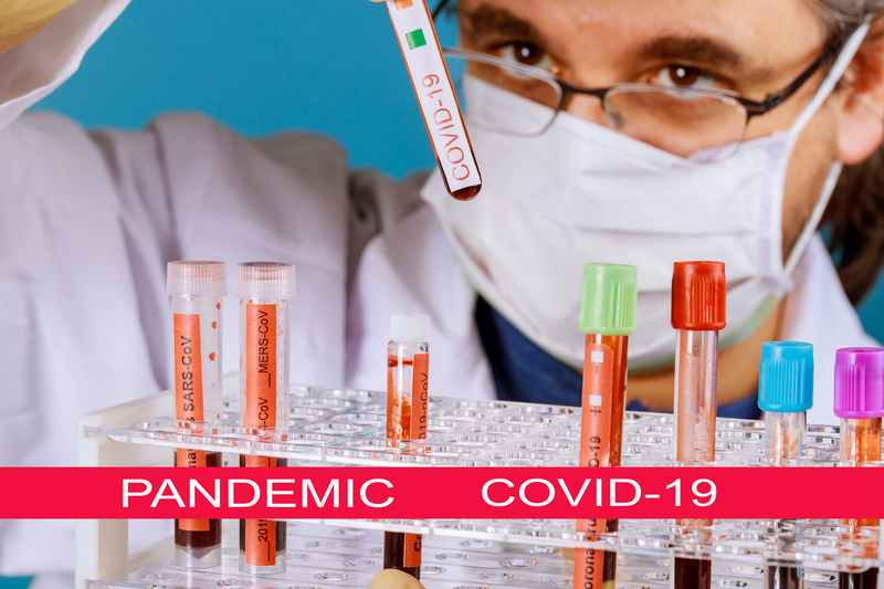 Global pandemic with coronavirus COVID-19 Doctor holds in his hands blood samples CORONAVIRUS COVID-19 Corona Virus is world wide | © Photovs | Dreamstime Stock Photos