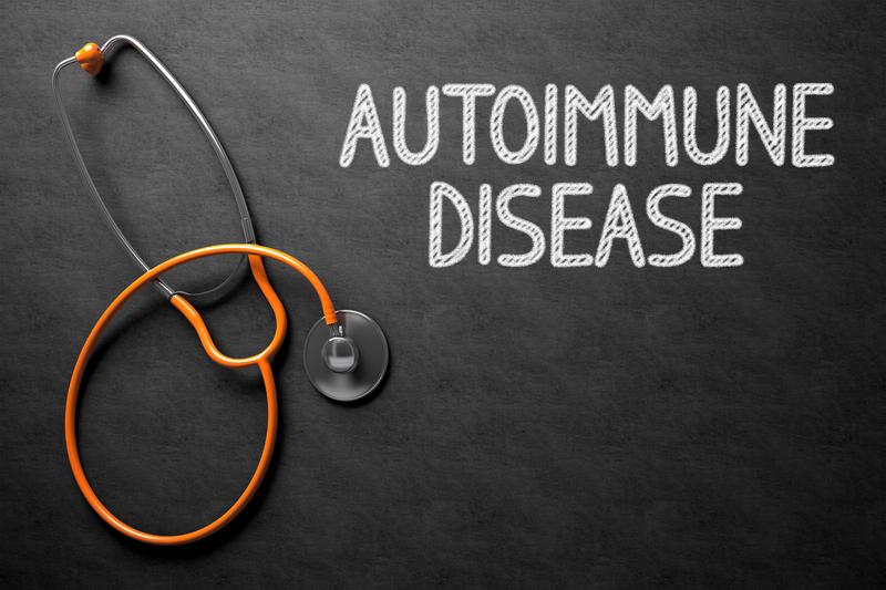 Chalkboard with Autoimmune Disease Concept. 3D Illustration. | © Tashatuvango | Dreamstime Stock Photos