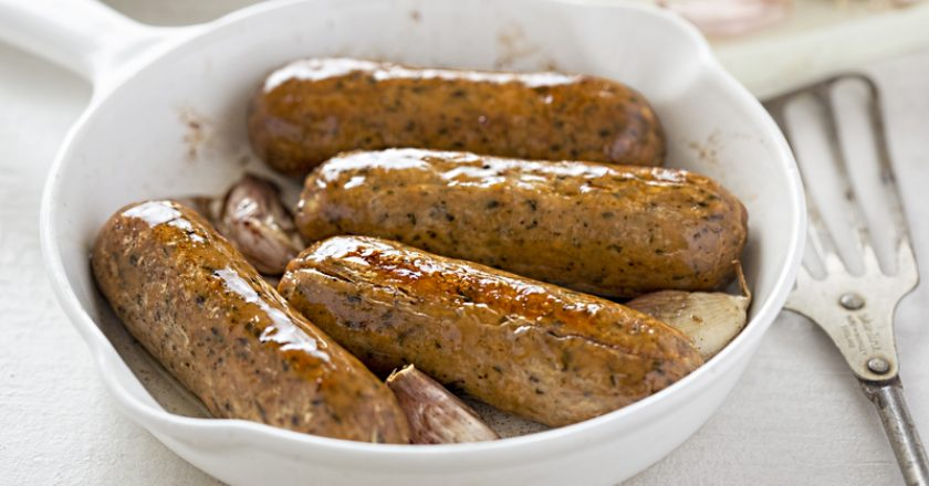 Wild garlic and parsley sausages | © Klfoodstyle | Dreamstime Stock Photos