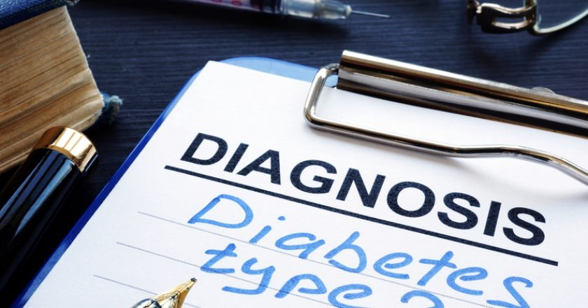 Diagnostic form with diagnosis diabetes type 2. | © Designer491 | Dreamstime Stock Photos