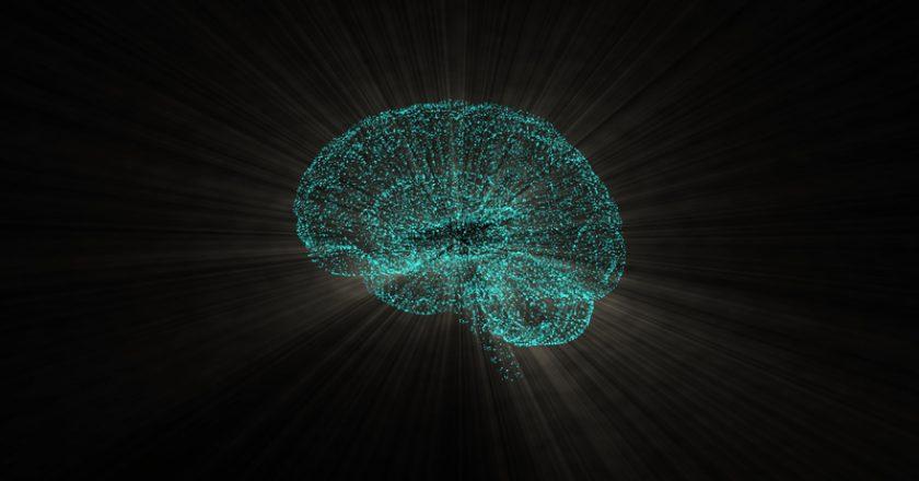 Abstract shot of intense brain activity illuminating in space with light rays around. | © Vfxstarstock | Dreamstime Stock Photos