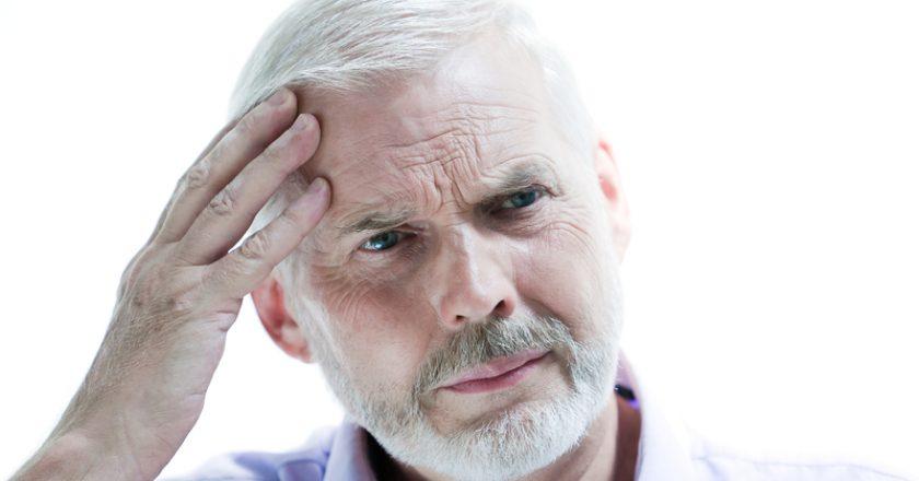Migraine or memory loss illness senior man | © Pixattitude | Dreamstime Stock Photos