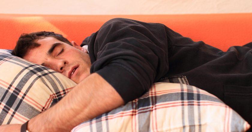Portrait of sleeping man | © Thorken | Dreamstime Stock Photos