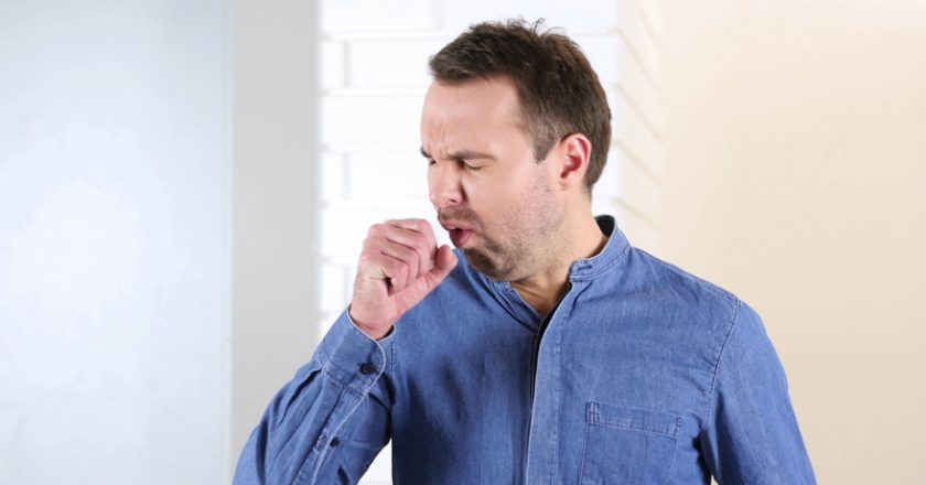 Cough, Coughing Middle Aged Man, | © Mustangmarshal | Dreamstime Stock Photos